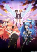 Senki Zesshou Symphogear: Meteoroid-falling, Burning, and Disapp